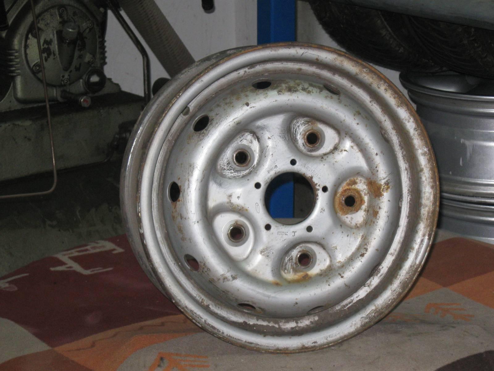 Стальные диски для форд транзит 7 фотография